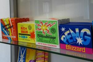 DDR Feuerwerk, Raritäten