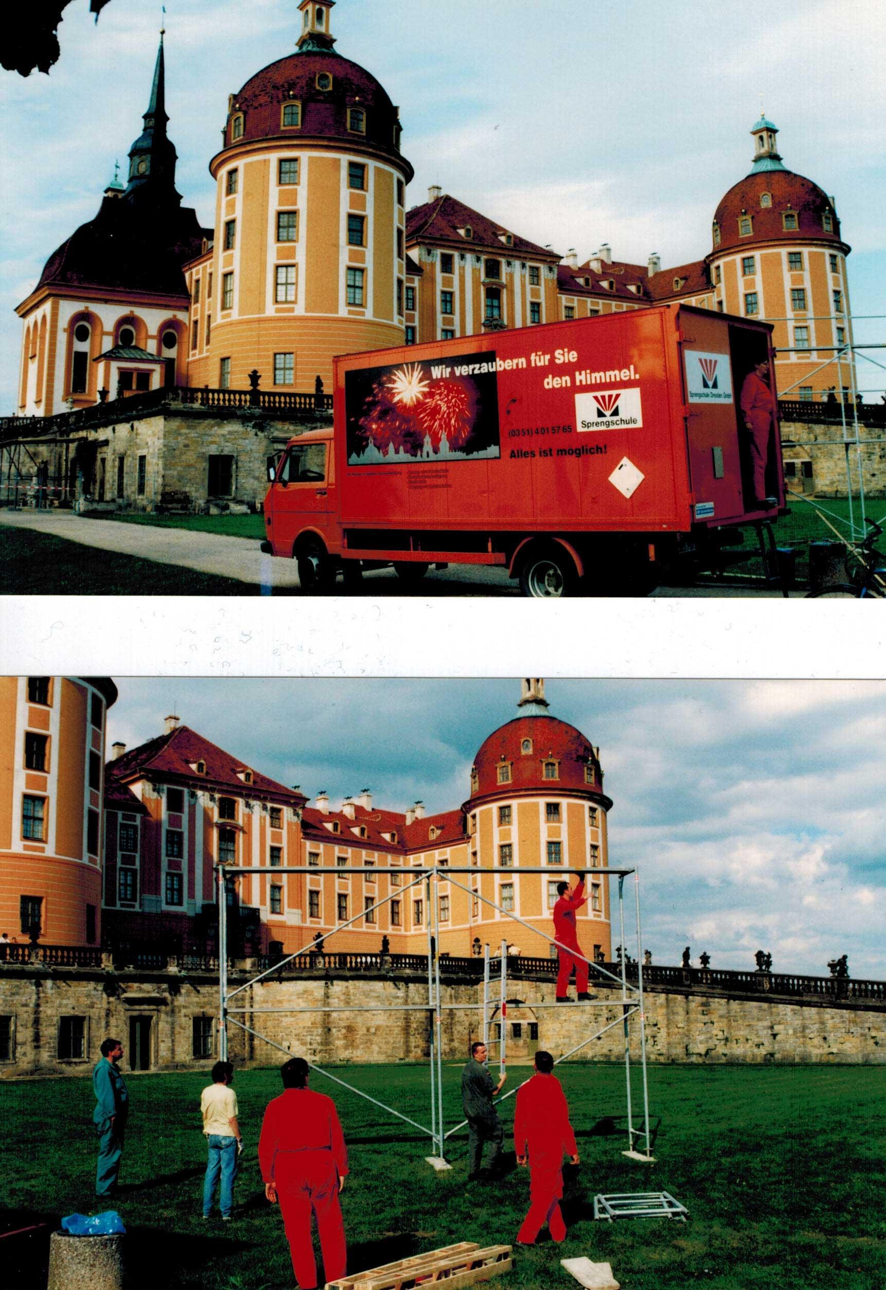 Ausbildung an der Sprengschule Dresden